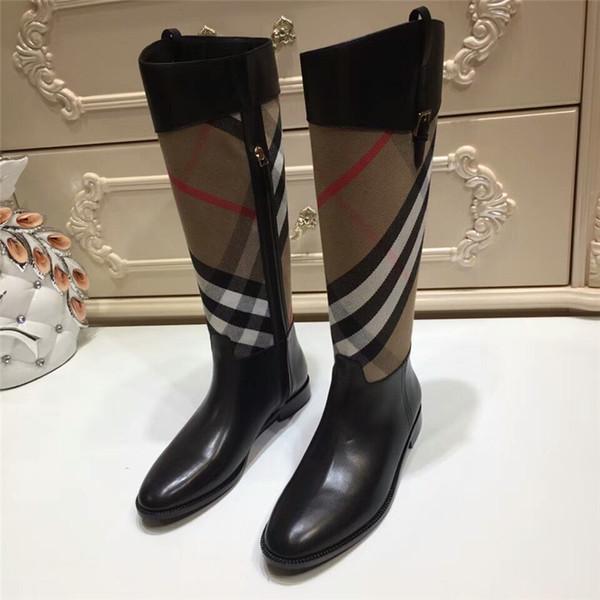 2018 designer de luxe de mode designer chaussures femmes Fashion Designer de luxe femmes bottes Marque bottes femmes bottes d'hiver Chaussures habillées femmes