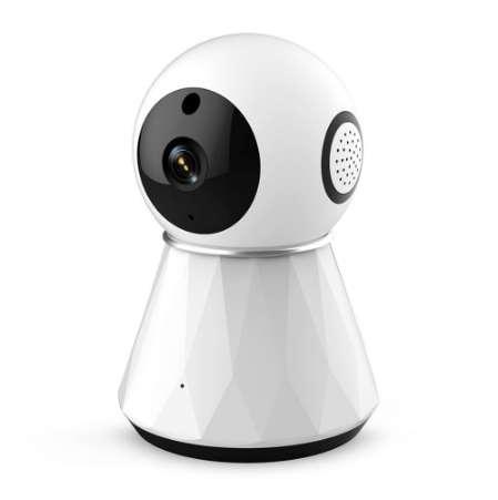 13Q-1080P 2.4G Wi-Fi Pan-Tilt Cámara inteligente Monitor de la oficina doméstica Familia Guardian Privacidad Seguridad Visualización de múltiples imágenes Cámara web