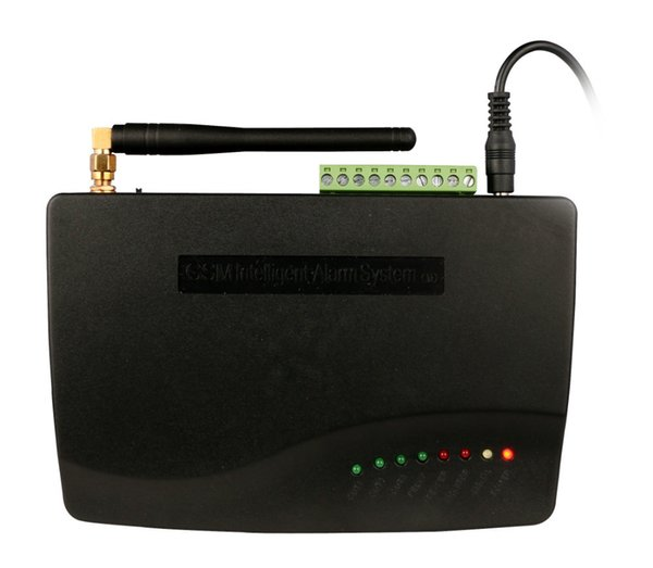 Sistema di allarme GSM wireless, display LCD Wireless Home GSM Alarm System, antifurto antifurto per la sicurezza domestica