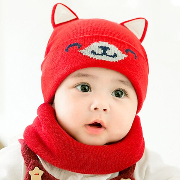 Baby Kids Maternity Accessories Spring Autumn Winter Fashion Cute animals Caps Hats Newborn Hat Suitable for 0-12 months MZ6858