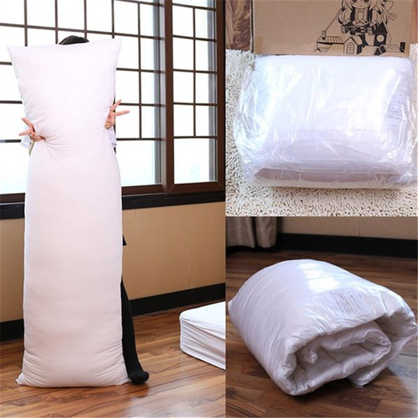 Pillow 150 x 50CM Hugging Long Pillow Inner Body Cushion Pad Anime Rectangle Sleep Nap Pillow Home Bedroom Bedding Accessories