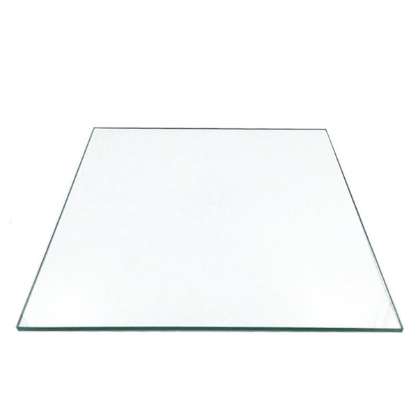 120mm x 120mm x 3mm Borosilicate Glass Plate/Bed w/Flat Polished Edge Square for 3D Printer