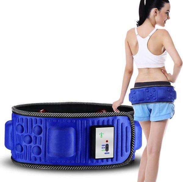 5 موتور الكهربائية التخسيس تدليك حزام الخصر المتقلب البطن حرق الدهون مدلك الاهتزاز ممارسة فقدان الوزن حزام العلاج بالأشعة