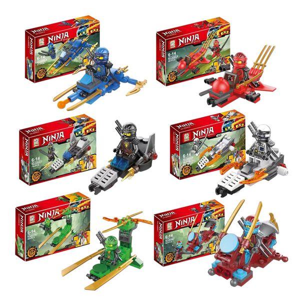 2018 Ninjagoes Dragon Building Block Compatible with Legoingly Ninjagoes KAI JAY COLE ZANE Lloyd WU NYA GARMADON Ninja Toys