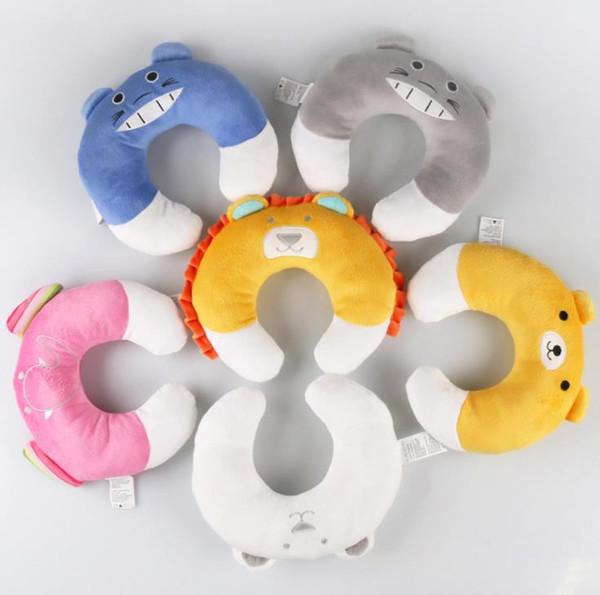 Newborn Baby Neck Protection Pillow Infant U-Shape Pillow Cute Cartoon Baby Travel