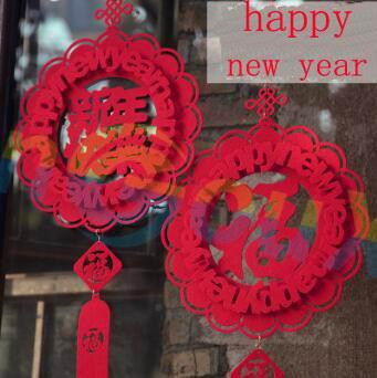 Acquista Capodanno Cinese Decorazioni Natalizie Di Primavera Ciondolo A Forma Di Lanterna Fai Da Te Decorazione La Scena Di Natale A 1 94 Dal