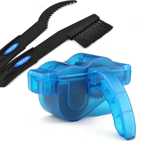 Cycling Bike Bicycle Chain Wheel Wash Cleaner Tool Cleaning Brushes Scrubber Set Clean Repair Tools