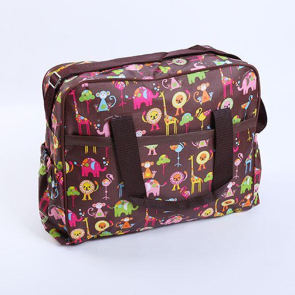 Beautiful Flower Print Multifunctional Large Capacity Crossbody Bag Multis Choices Mummy Bag Maternity Shoulder Diaper Bags