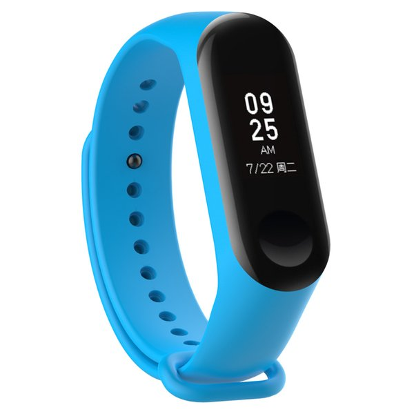 Miband 3 Strap Belt Silicone pulseira Colorful Wristband wriststrap for Mi Band 3 Smart Bracelet for Xiaomi Mi Band