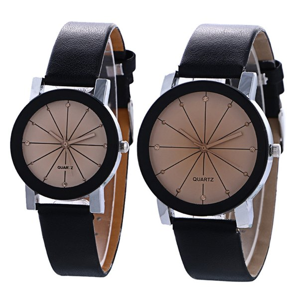 2 Pcs Couple Watches Men Women Unisex New Alloy Sports Wrist Watch Neutral Casual Quartz Watches Creative Couple Gift For Lovers