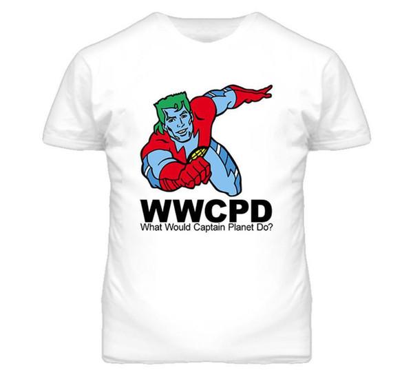 Kapitän Planet WWJD T Shirt