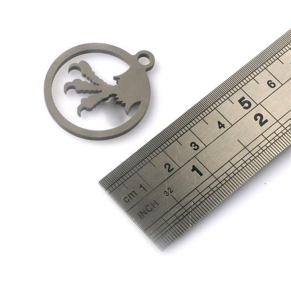 Брелок бусины для ножа талреп сделал TC4 Титана кемпинг утилиты EDC многофункциональный открытый аксессуары нож кулон инструменты