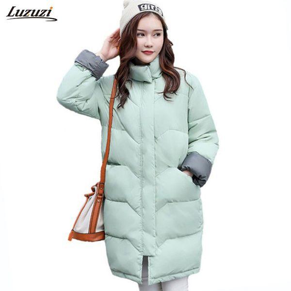 1PC Winter Jacket Women Winter Coat Women Thickening Cotton Parka Long Coats Womens Jackets Abrigos Mujer Invierno Z1557