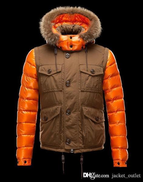 Fashion Winter Down Jacket Cool Zippers Brand Designer Jackets Men Hoodies Warm Coat Design Outdoor Coats Cheap Sale