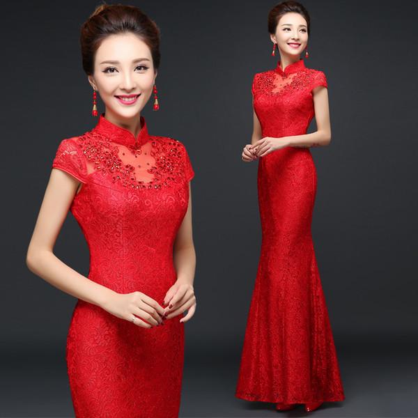 сегодня этого красное платье китай фото раскрасьте
