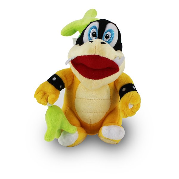 22cm Super Mario Koopalings Plush Toys Wendy Koopa Stuffed Soft Plush Doll for Child Gifts Wholesale