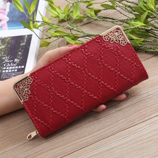 2018 Long Women Wallet Japan Style Designer Purse Female Cards Hoder Best Phone Wallet Case Carteira Femme Portefeuille Femme