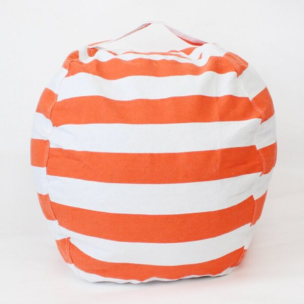 2018 novo 63 cm crianças sacos de feijão de armazenamento de pelúcia toys beanbag cadeira quarto de pelúcia sala de jogos de jogos esteiras roupas portáteis de armazenamento ao ar livre almofadas