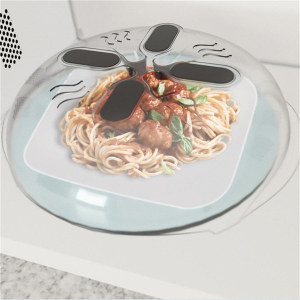 Yeni Yaratıcı Plastik Kapaklar Pişirme Araçları Yeni Gıda Sıçramak Bekçi Mikrodalga Hover Anti-Püskürtme Kapak Mutfak Aletleri Tencere