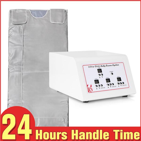 Hohe qualität Fettverbrennung Wasserdichte 3 Zonen Fern Infrarot Decke Sauna abnehmen gewichtsverlust heizung therapie körperformung maschine