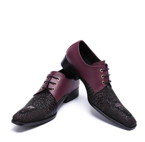 2018 New Style Men Wedding Shoes Cow Split Leather Fashion Men Formal Dress Shoe Summer Breathable Slippers Plus Size 37-46 G180