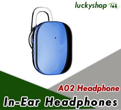 Baseus A02 Mini Bluetooth Kopfhörer Freisprecheinrichtung Wireless Bluetooth Headset Kopfhörer mit Mikrofon 4.1 Ohrbügel Ohrhörer Ohrhörer 60pcs