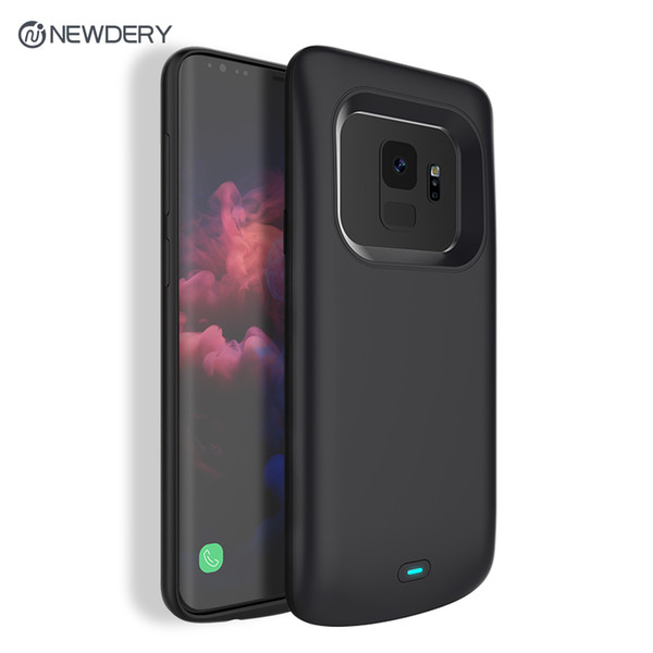 2018 Newest 4700mAh Slim TPU Rechargeable Charging battery case for Samsung S9 Power case for Galaxy S9 in stock
