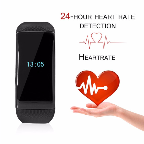 X16S Bluetooth Smart Bracelet Watch Calorie Counter Fitness Activity Tracker Heart Rate Monitor Sports Wristband New