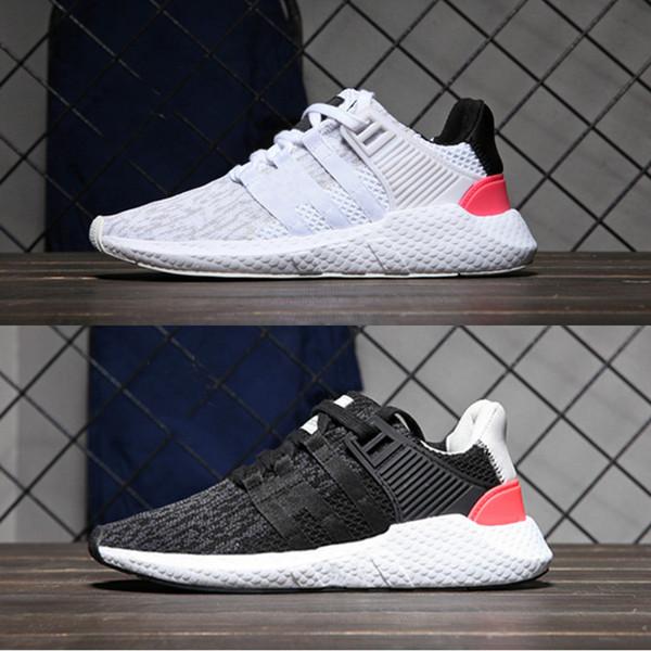 2018 EQT 93 17 мужчины кроссовки Поддержка будущего черный белый розовый герб Турбо Красный женщины спортивная сетка кроссовки 5-10