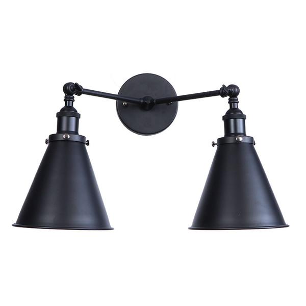 Factory Wholesale Loft Vintage Industrial Wall Sconce Lights Wandlamp Retro Wall Lamp 110V-220V