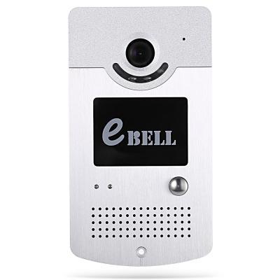eBell Inteligente IP Campainha 1.0MP 720 P Câmera Wi-fi Detecção de Movimento sem fio ip video porteiro interfone 64G TF desbloquear fechadura da porta elétrica