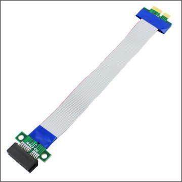 Wholesale- 1 PZ --- Nuovo PC PCI Expres x1 PCI E Riser Card Extender Extension Ribbon Flex spostare cavo