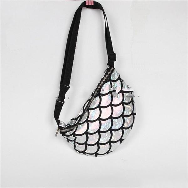 Pratical Storage Bag Large Capacity Zipper Pocket Women Dinner Handbag Multifunction Mermaid Theme Multi Colors Hot Sale 14jb ii