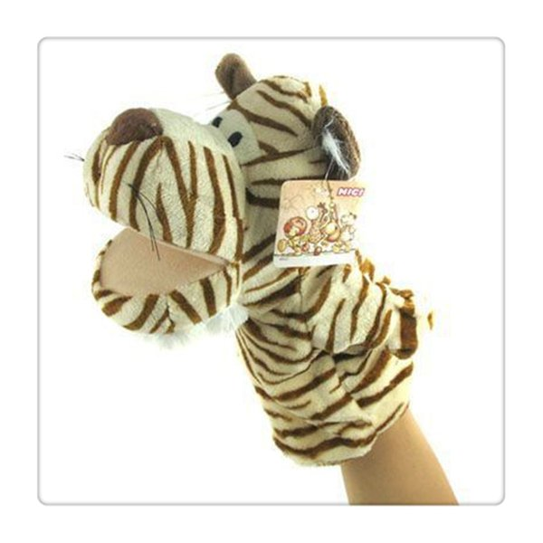 A Lovely Soft Animal Hand And Puppet That Can Tell A Story Parent-child Interaction Finger Playing Puppet Hot Sale