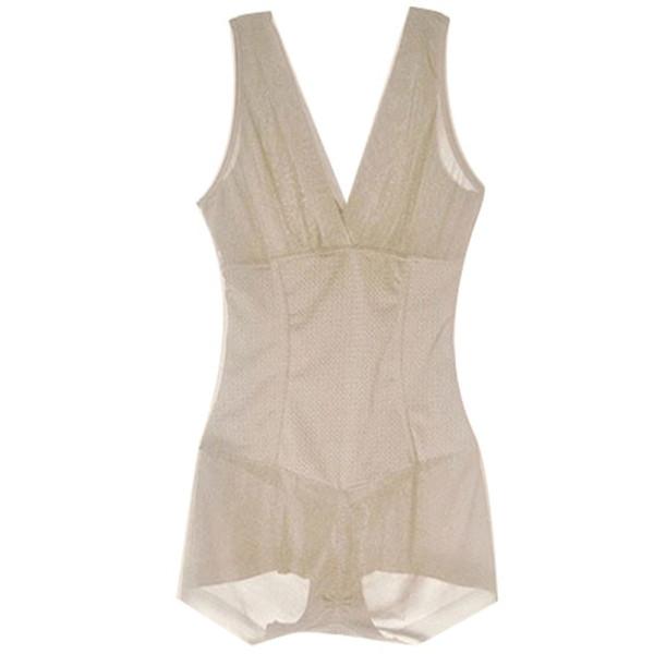 Mulheres Firm Tummy Control Saia Vestido Completo Deslizamento Shaper Do Corpo Underbust Shapewear L XL XXL