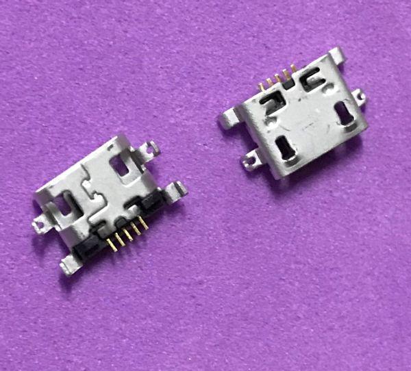 200pcs For Alcatel One Touch C7 Dual 7041D 7040 7041 OT7040 OT7041 micro usb charging jack connector plug charger dock socket mini port