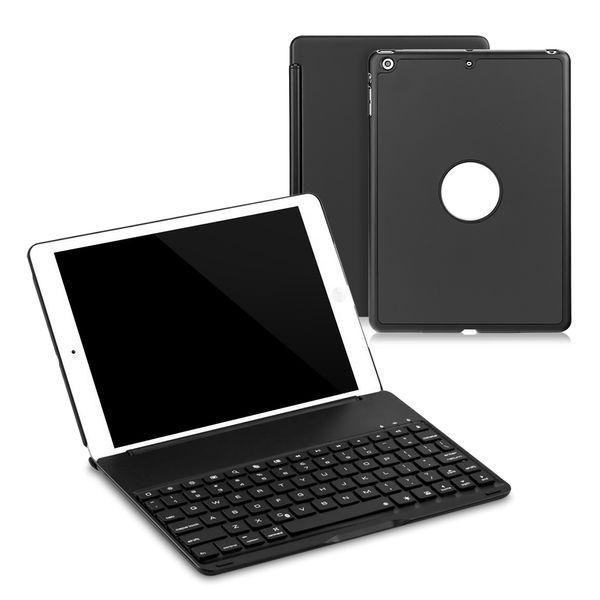 7 Farben Hintergrundbeleuchtung Licht Drahtlose Bluetooth Tastatur Fall Hintergrundbeleuchtung Für 9,7 zoll Neue iPad 2017 Mit Schutzhülle
