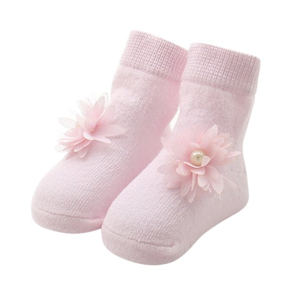 Baby Kids Newborn Girls Comfortable Floral Cute Cotton Sock Slippers Warm Ankle Socks 0-12M Baby Girl Socks Best Gift 12M