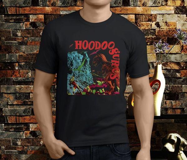 New Fashion Cool Casual T Shirts Men's New Popular Hoodoo Gurus Australian Rock Band Men's Black T-Shirt S-3XL Short Sleeve Top