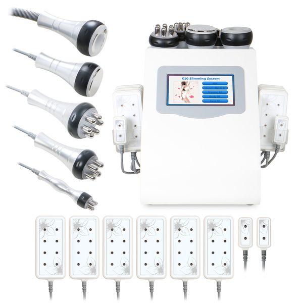 top popular Beauty Salon Professional Radio Frequency Body Vacuum Ultrasonic Slim Cavitation Lipo Laser Machine for Weight Loss 2020