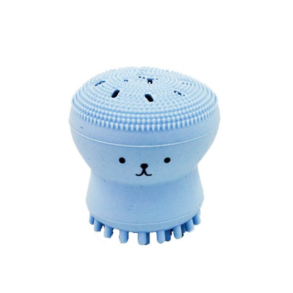 Popular item Wash Brushes Super Little Cute Octopus Face Cleaner Massage Soft Silicone Facial Brush Face Cleansers Blackhead