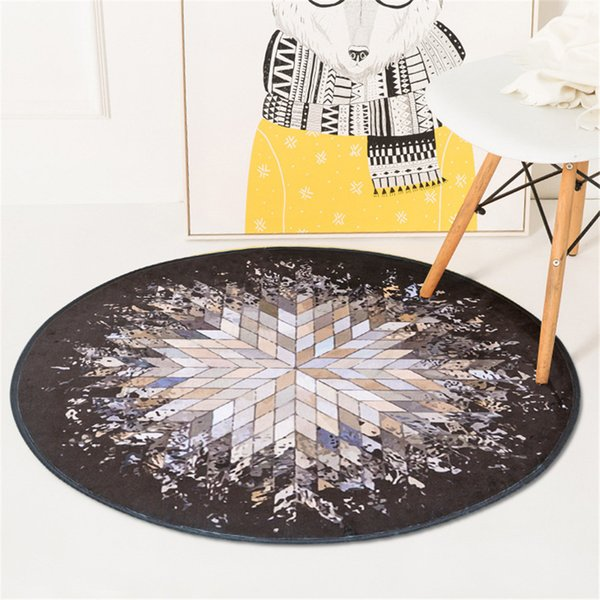 Phenomenal Round Geometric Splash Pattern Rug For Bedroom Living Room Coffee Table Computer Chair Floor Mat Shaw Carpet Prices Shaw Berber Carpet From Andrewgaddart Wooden Chair Designs For Living Room Andrewgaddartcom