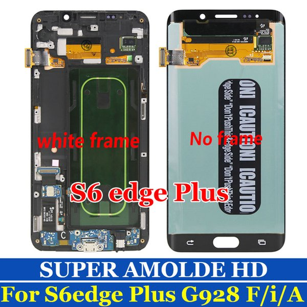 "SUPER AMOLED 5.7"" For Samsung Galaxy S6 Edge Plus G928 LCD Display + G928F Touch Screen Digitizer Assembly For Samsung S6 Edge Plus LCD"