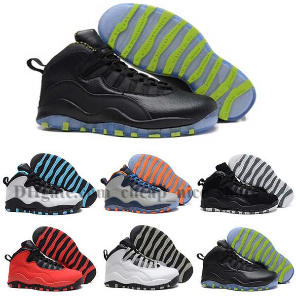 2018 Мужчины баскетбол обувь кроссовки 10 Париж Нью-Йорк чи Рио-Ла-Хорнетс городской