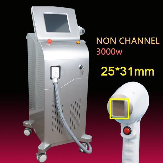 Máquina de depilación permanente con láser de diodo 808nm de tamaño de punto grande Máquina láser de 808nm para todo tipo de pieles logotipo y lenguaje del cliente