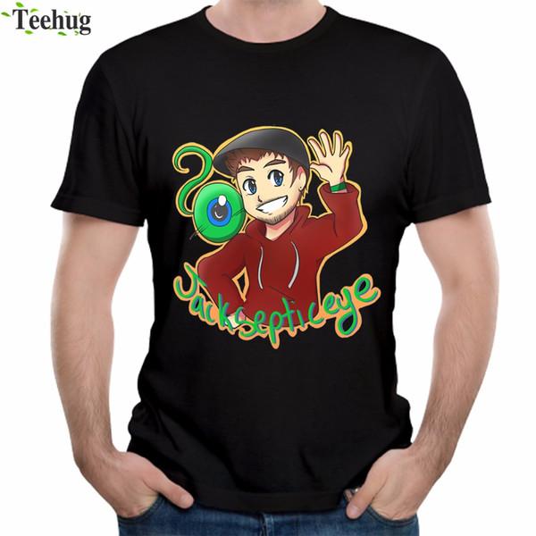 Novedad Jacksepticeye hombre camiseta Summer Fashion Streetwear para hombre algodón camiseta