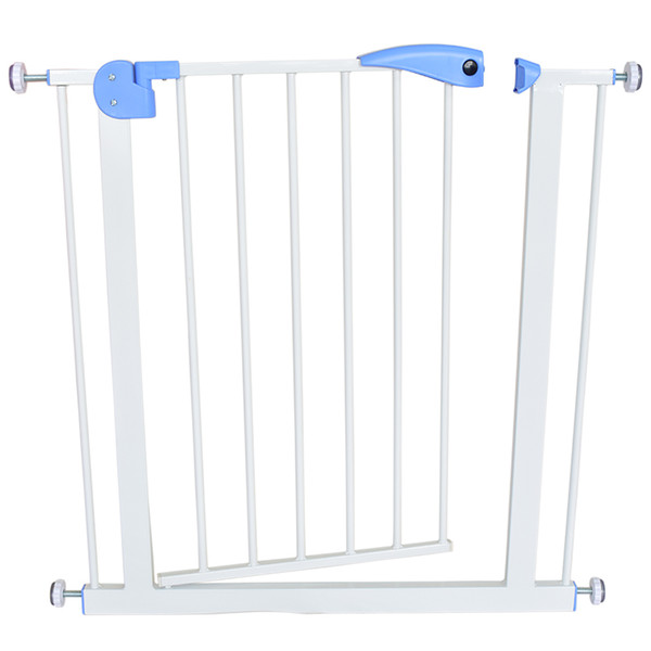 top popular baby safety door baby gate kids child fence gate fencing for children pet fence stairs for door width 74-87cm 2019