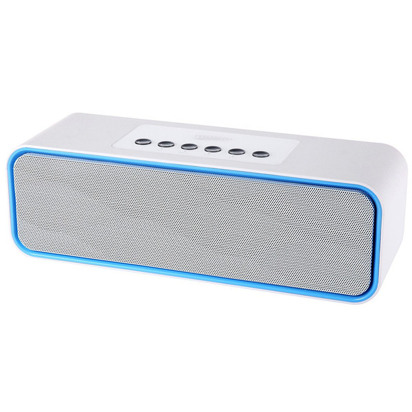 MUSKY DY - 22 2 in 1 Portable Wireless Bluetooth FM Radio Speaker Mini Support Hands Free Phone Calls 3.5mm Aux Line-in Port