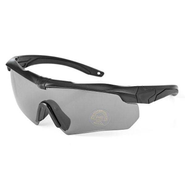 Gafas de sol de ciclismo a prueba de viento Gafas de bicicleta Set de gafas con caja
