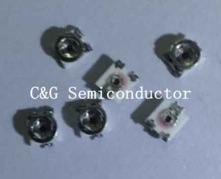 100PCS 3*3mm 3x3 10K Ohm smd adjustable resistor 10 KOHM SMD Adjustable Potentiometer Trimmer Resistor 3*3 mm ( 100R 3.3K 5K 10K 20K 100K